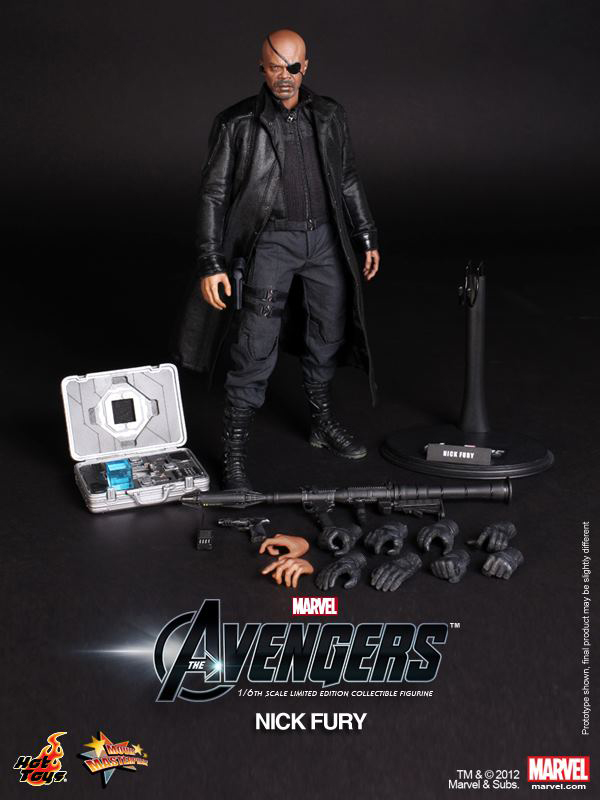 Preview | Hot Toys: Nick Fury (10)