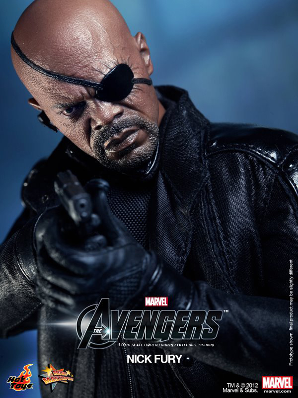 Preview | Hot Toys: Nick Fury (8)