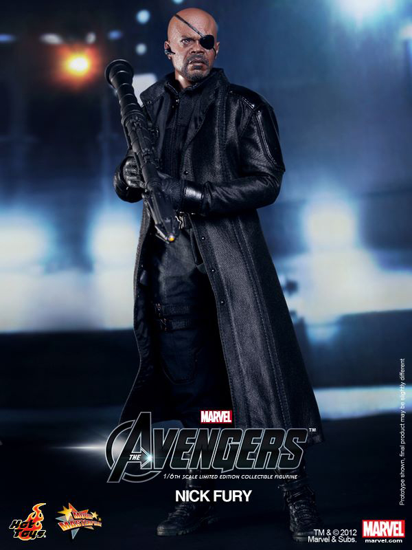 Preview | Hot Toys: Nick Fury (6)