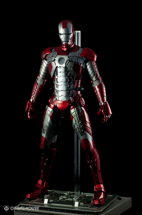 Review | Hot Toys: Ironman Mark V (62)