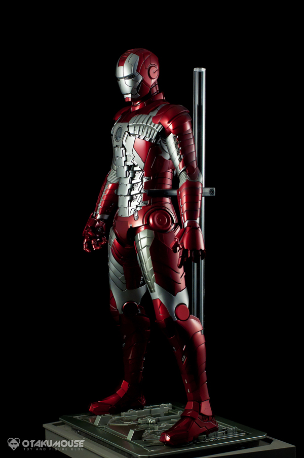 Review | Hot Toys: Ironman Mark V (61)