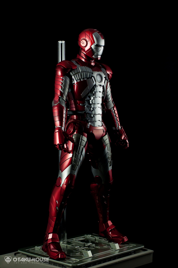 Review | Hot Toys: Ironman Mark V (58)