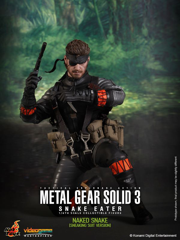 Preview | Hot Toys: Naked Snake (6)