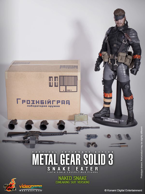 Preview | Hot Toys: Naked Snake (4)