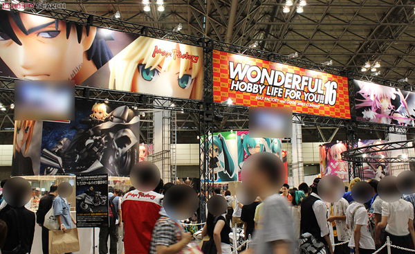 Wonder Festival 2012 | Summer: GSC / MF Scale Figures &amp; Figmas (84)