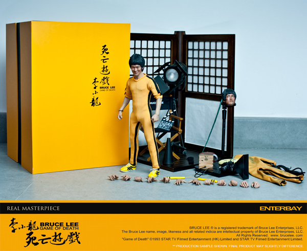 Enterbay: Bruce Lee Game Of Death (Behind The Scene) Edition (10)