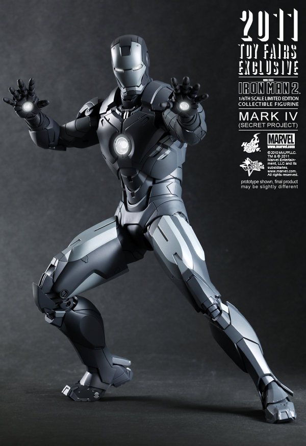 Hot Toys: Ironman Mark IV: Secret Project (2)