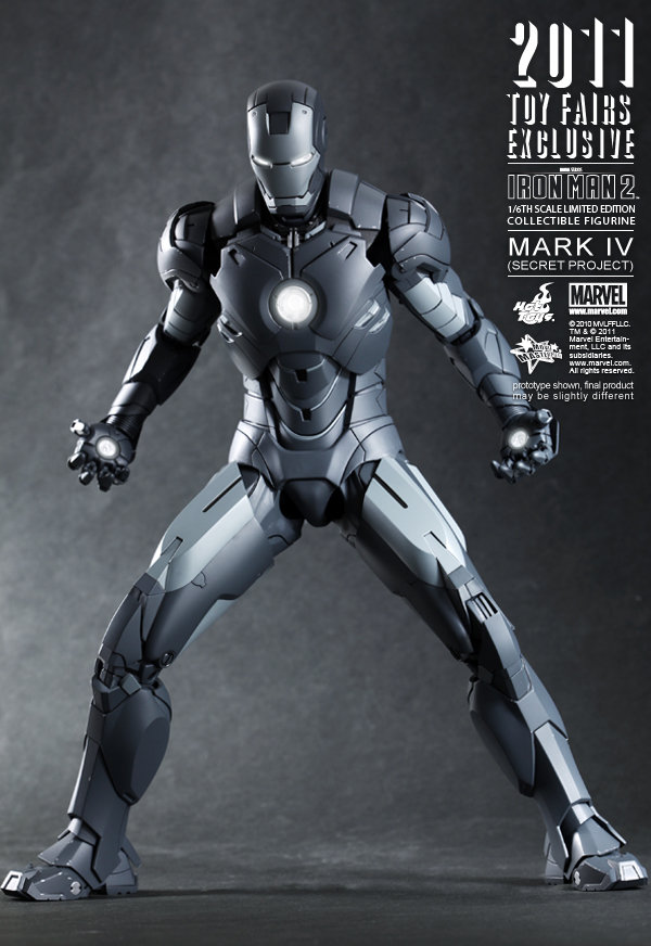 Hot Toys: Ironman Mark IV: Secret Project (10)