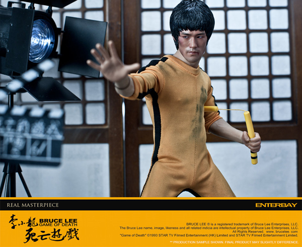 Enterbay: Bruce Lee Game Of Death (Behind The Scene) Edition (2)
