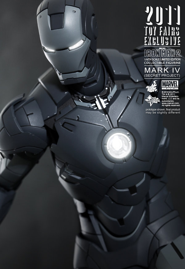Hot Toys: Ironman Mark IV: Secret Project (7)