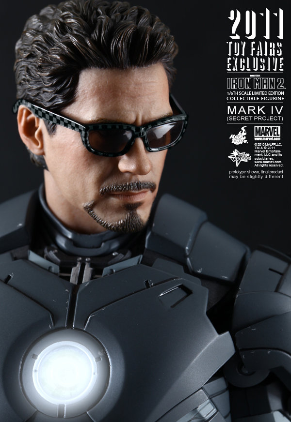 Hot Toys: Ironman Mark IV: Secret Project (6)