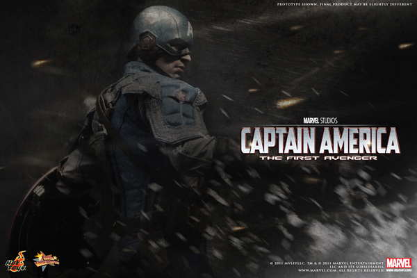 Hot Toys Captain America Teaser Poster