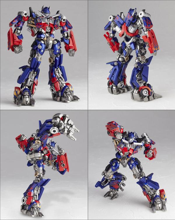 Kaiyodo: Tokusatsu Revoltech Optimus Prime (2)