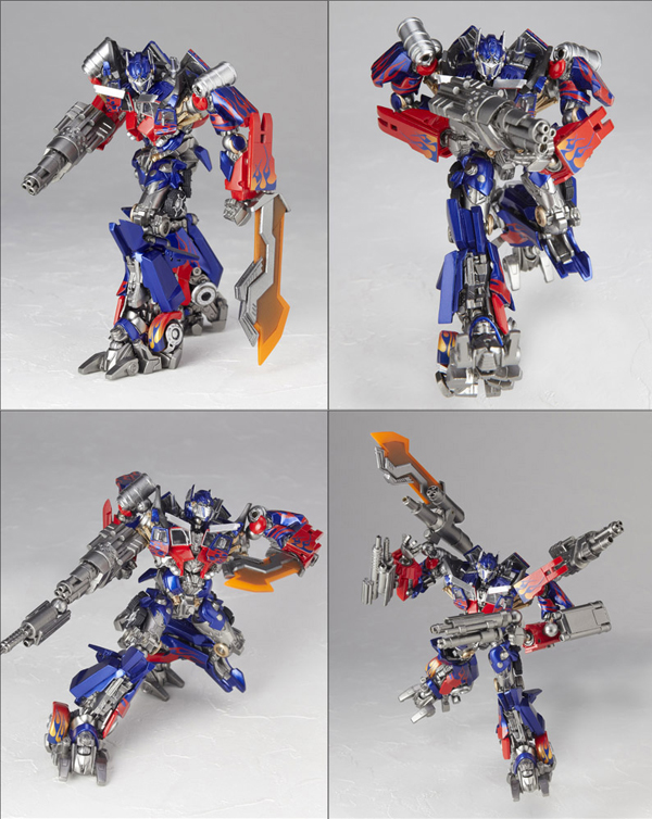 Kaiyodo: Tokusatsu Revoltech Optimus Prime (1)