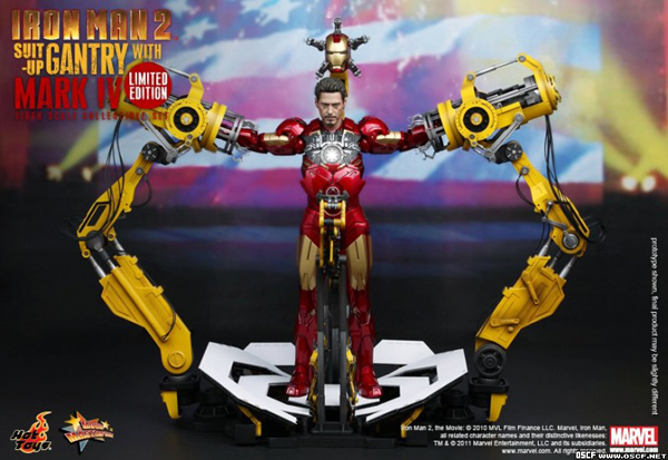 Preview | Hot Toys: Ironman 2 Limited Edition Suit Up Gantry (1)