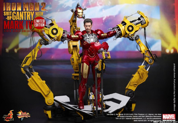 Preview | Hot Toys: Ironman 2 Limited Edition Suit Up Gantry (4)