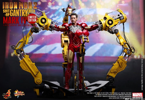 Preview | Hot Toys: Ironman 2 Limited Edition Suit Up Gantry (5)