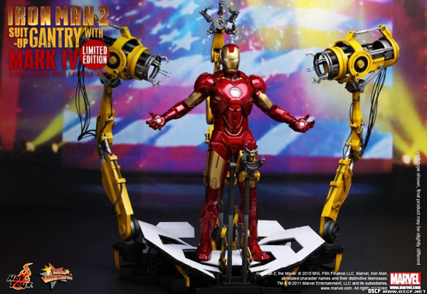 Preview | Hot Toys: Ironman 2 Limited Edition Suit Up Gantry (7)