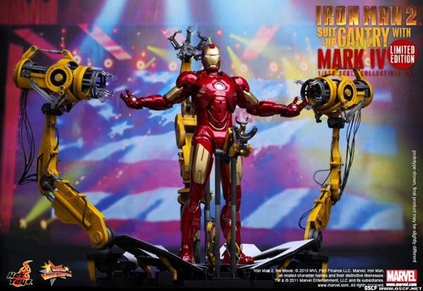 Preview | Hot Toys: Ironman 2 Limited Edition Suit Up Gantry (8)