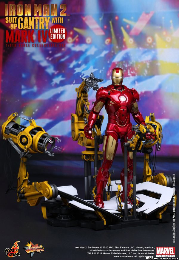 Preview | Hot Toys: Ironman 2 Limited Edition Suit Up Gantry (9)