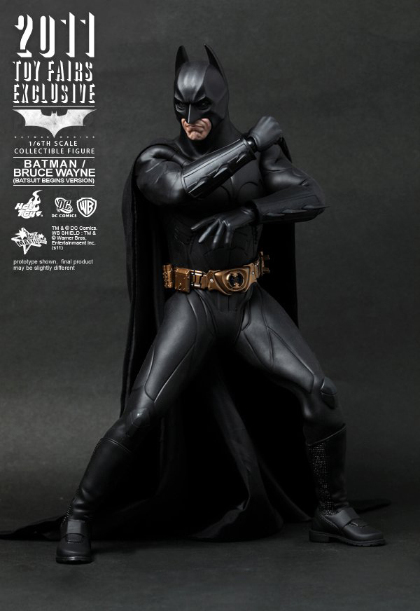 Preview | Hot Toys: 2011 Toy Fairs Exclusive Batman/Bruce Wayne (6)