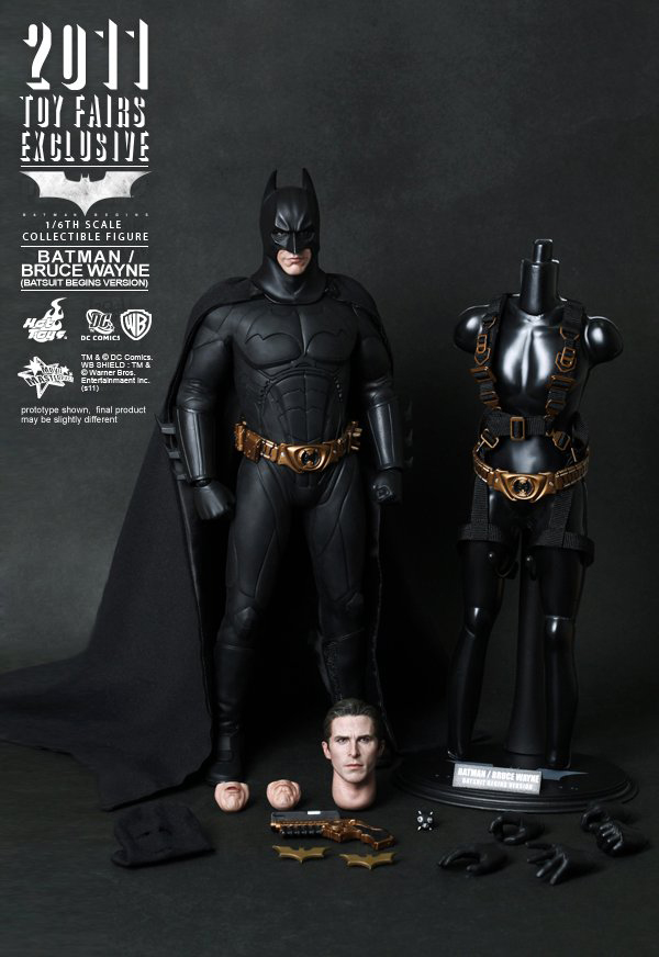 Preview | Hot Toys: 2011 Toy Fairs Exclusive Batman/Bruce Wayne (5)