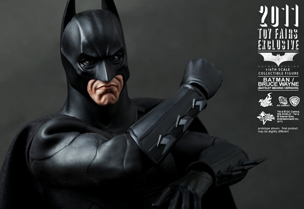 Preview | Hot Toys: 2011 Toy Fairs Exclusive Batman/Bruce Wayne (2)
