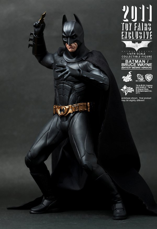 Preview | Hot Toys: 2011 Toy Fairs Exclusive Batman/Bruce Wayne (1)