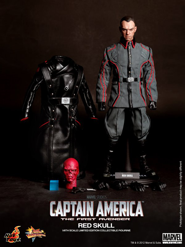 Preview | Hot Toys: Red Skull (3)