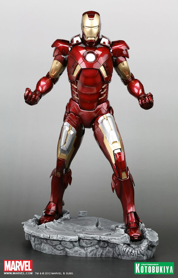 Preview | Kotobukiya: Ironman Mark VII (Avengers) (2)