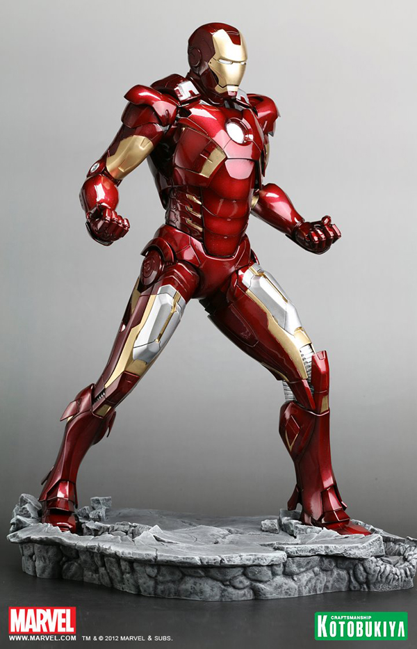 Preview | Kotobukiya: Ironman Mark VII (Avengers) (4)