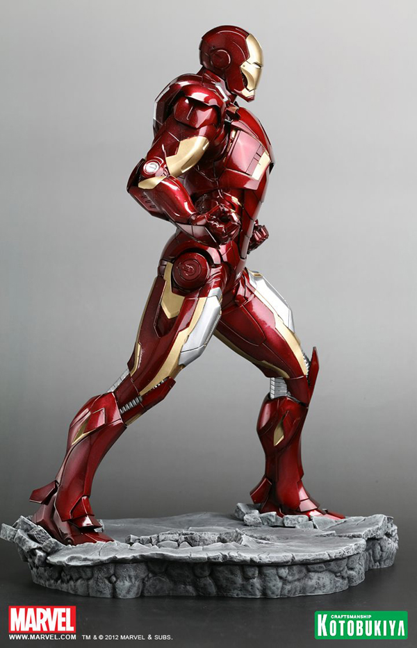 Preview | Kotobukiya: Ironman Mark VII (Avengers) (3)