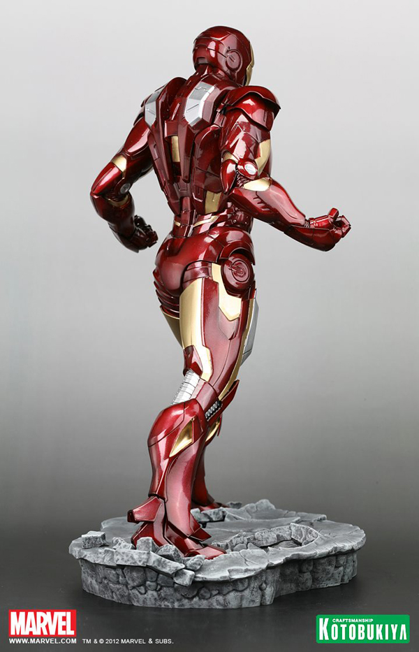 Preview | Kotobukiya: Ironman Mark VII (Avengers) (6)