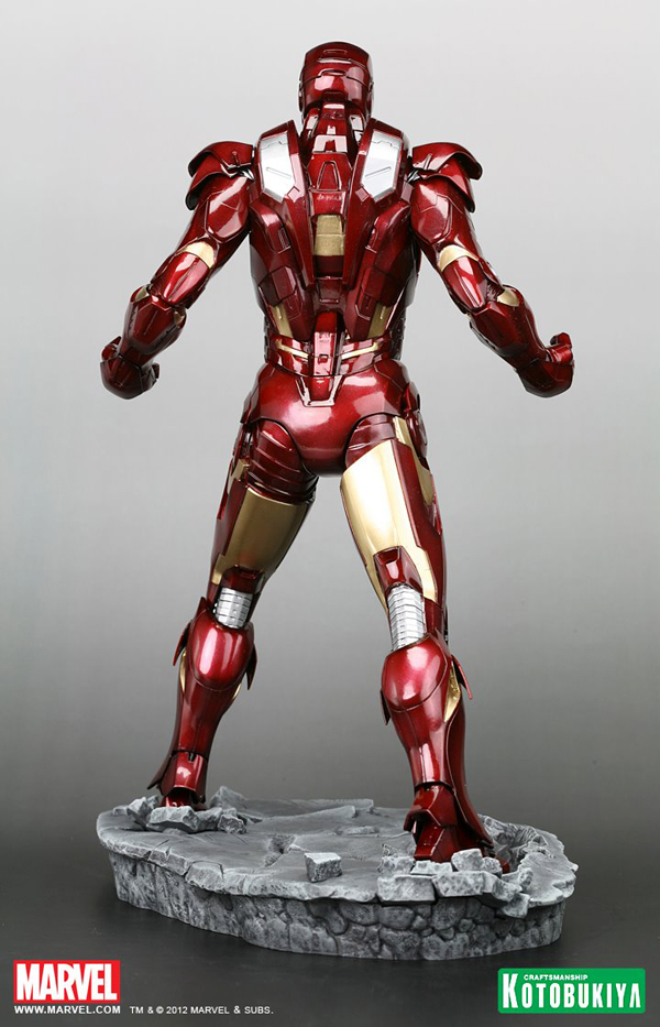 Preview | Kotobukiya: Ironman Mark VII (Avengers) (5)