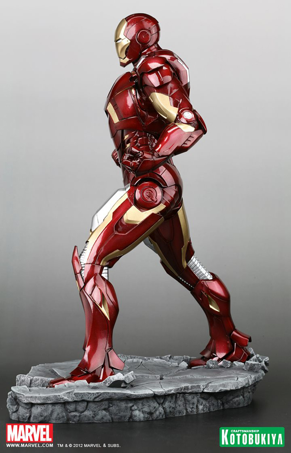 Preview | Kotobukiya: Ironman Mark VII (Avengers) (8)