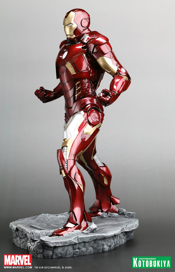 Preview | Kotobukiya: Ironman Mark VII (Avengers) (7)