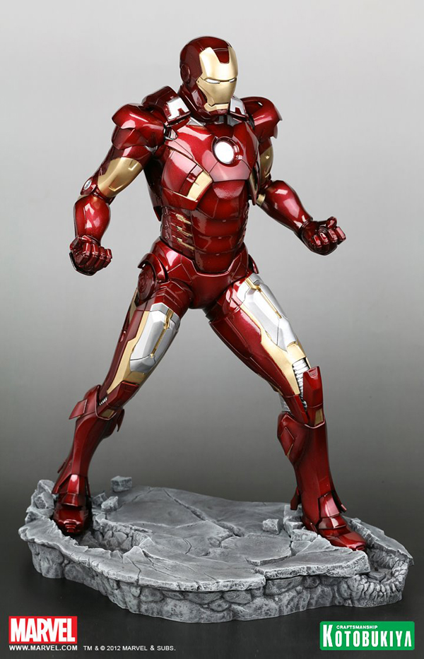 Preview | Kotobukiya: Ironman Mark VII (Avengers) (10)