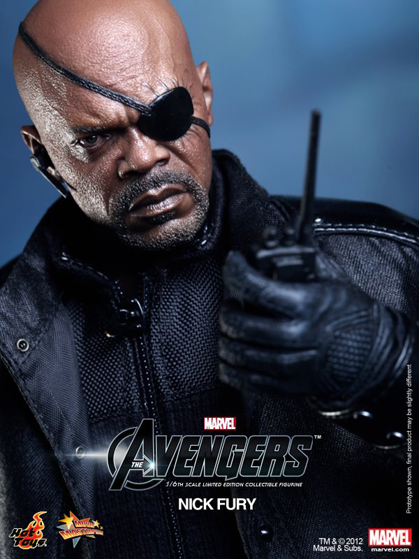 Preview | Hot Toys: Nick Fury (15)