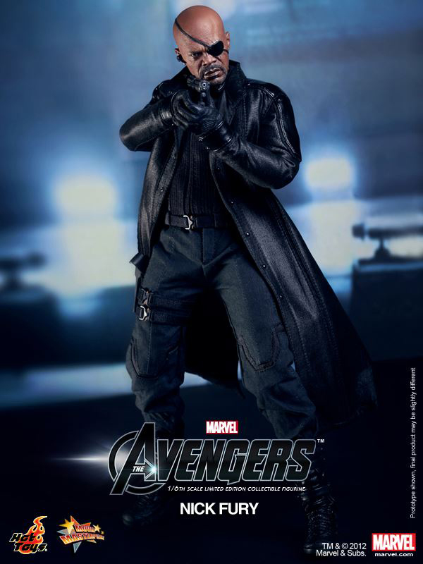 Preview | Hot Toys: Nick Fury (12)