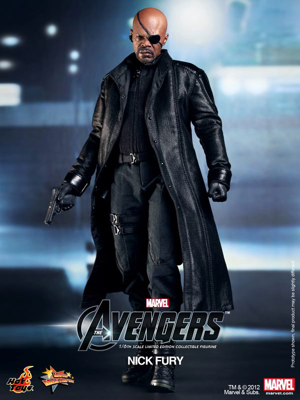 Preview | Hot Toys: Nick Fury (7)