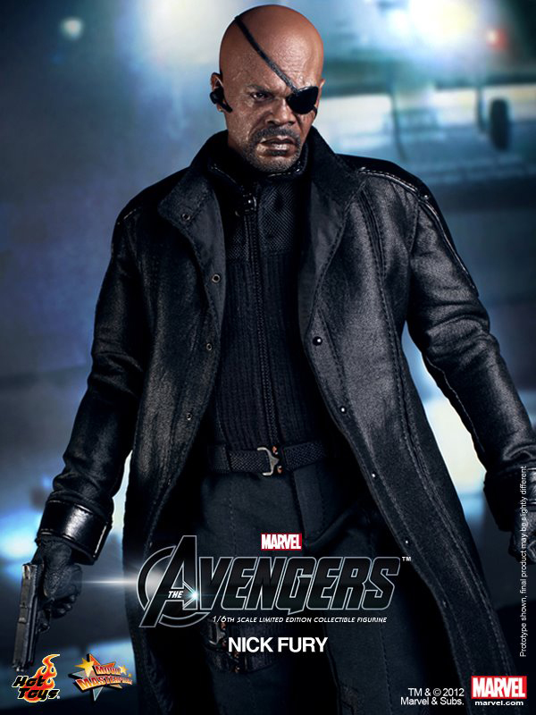 Preview | Hot Toys: Nick Fury (4)