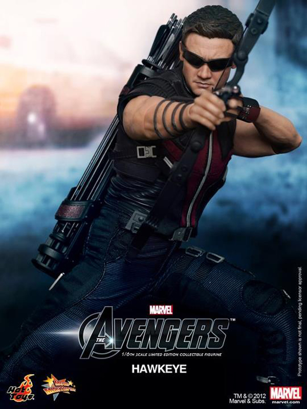 Preview | Hot Toys: Avengers Hawkeye (18)
