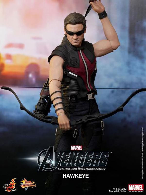 Preview | Hot Toys: Avengers Hawkeye (2)
