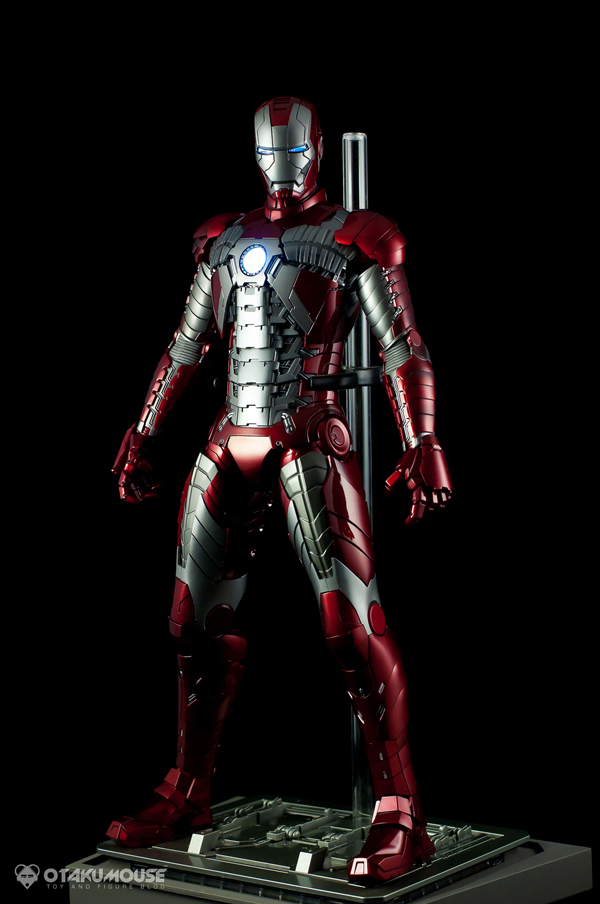 Review | Hot Toys: Ironman Mark V (64)