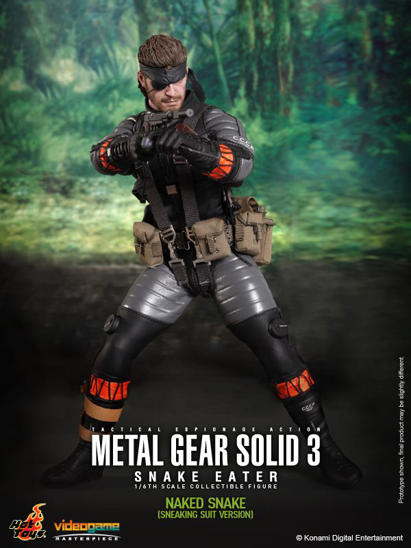 Preview | Hot Toys: Naked Snake (12)