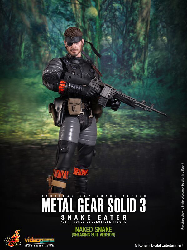 Preview | Hot Toys: Naked Snake (9)