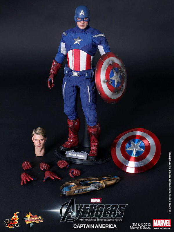 Preview | Hot Toys: Captain America (Avengers) (7)