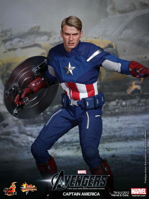 Preview | Hot Toys: Captain America (Avengers) (5)