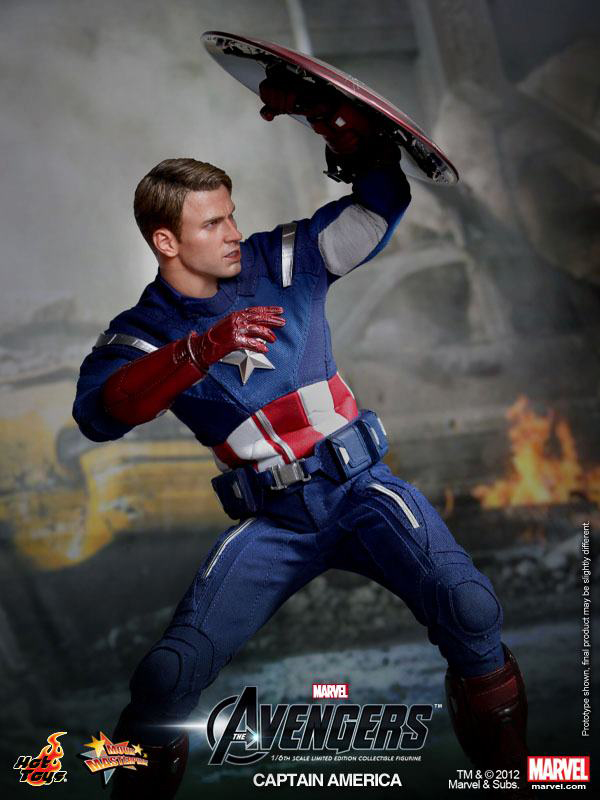 Preview | Hot Toys: Captain America (Avengers) (2)
