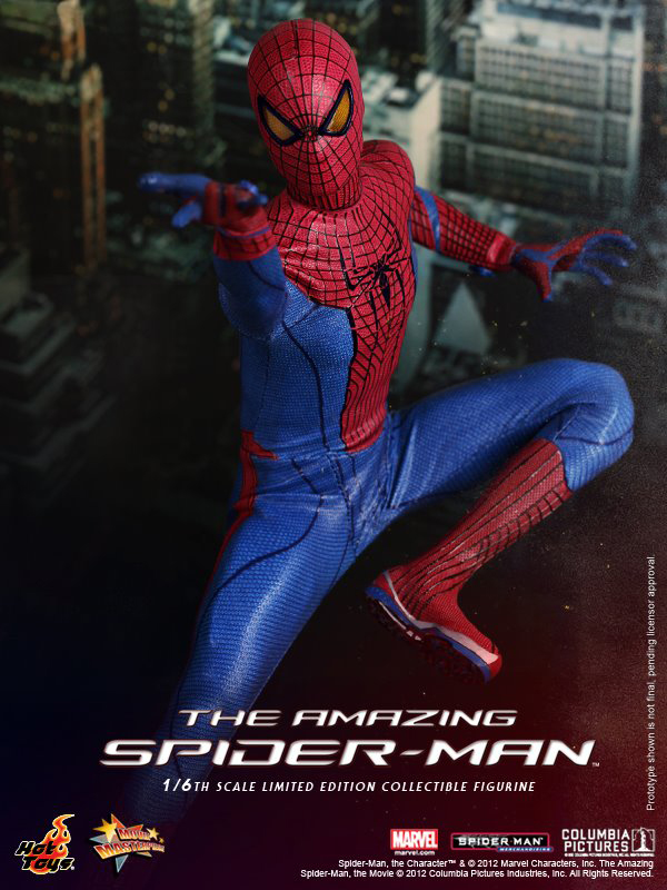 Preview | Hot Toys: Amazing Spiderman (4)